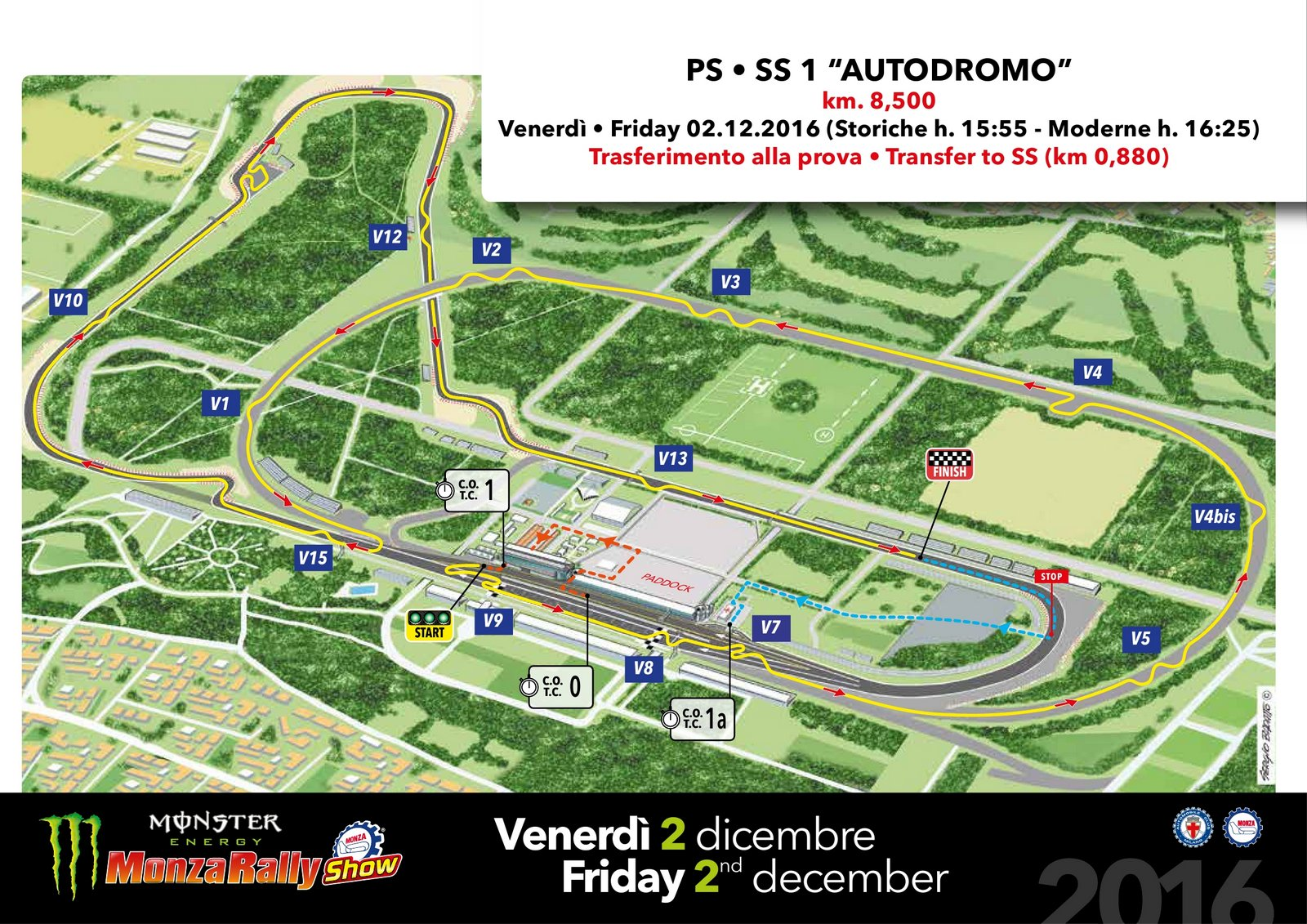 Circuito Monza : Monza f circuit aio wiring diagrams u