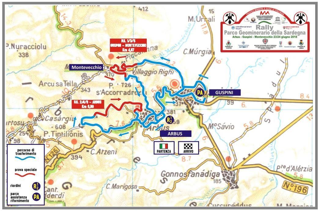 Cartina Sardegna Con Hotel.Rally Parco Geominerario Della Sardegna Con La Consegna Dei Radar E Partito Il Rally Rallylink Blog