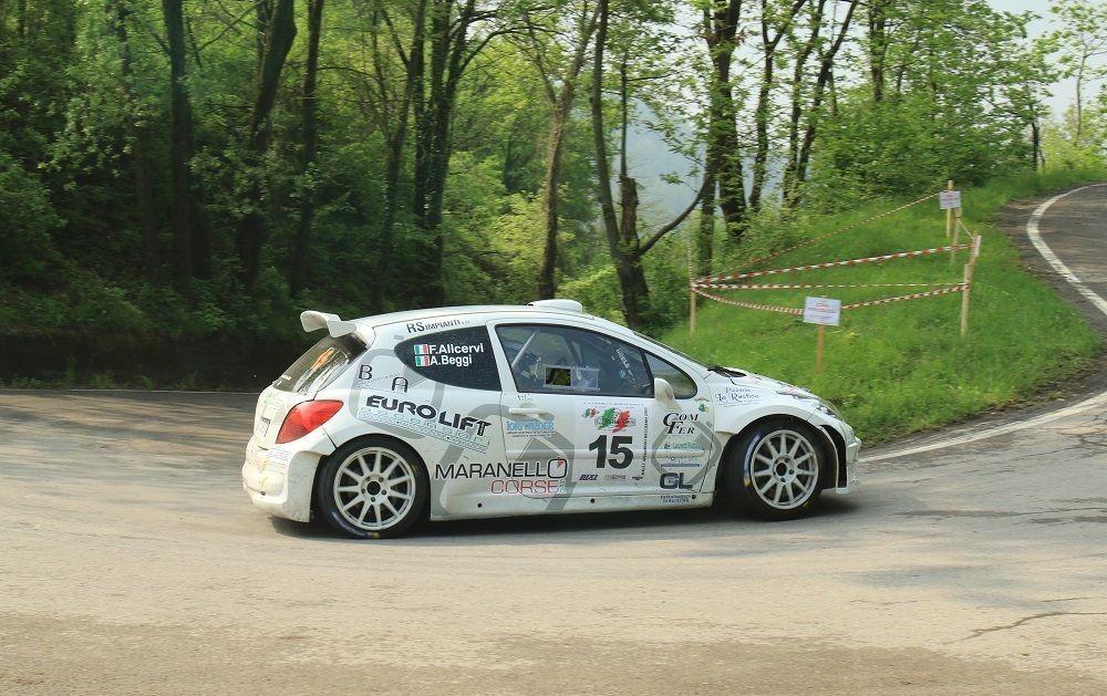Maranello corse arrembante alla partenza del rally di for Piccole case di partenza