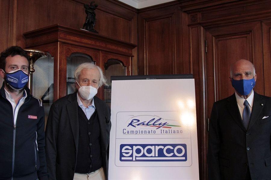 Bellazzini-Rogano-Sticchi-Damiani-e-logo-CIR-Sparco