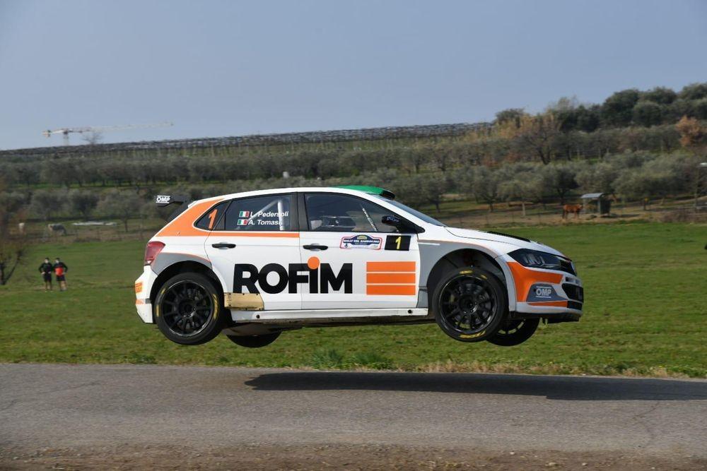 Pedersoli--Tomasi-Volkswagen-Polo-R5-vincitori-del-Rally-del-Bardolino